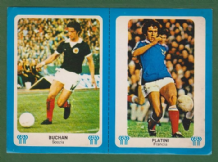 Scotland Martin Buchan Manchester United France Michel Platini Nancy